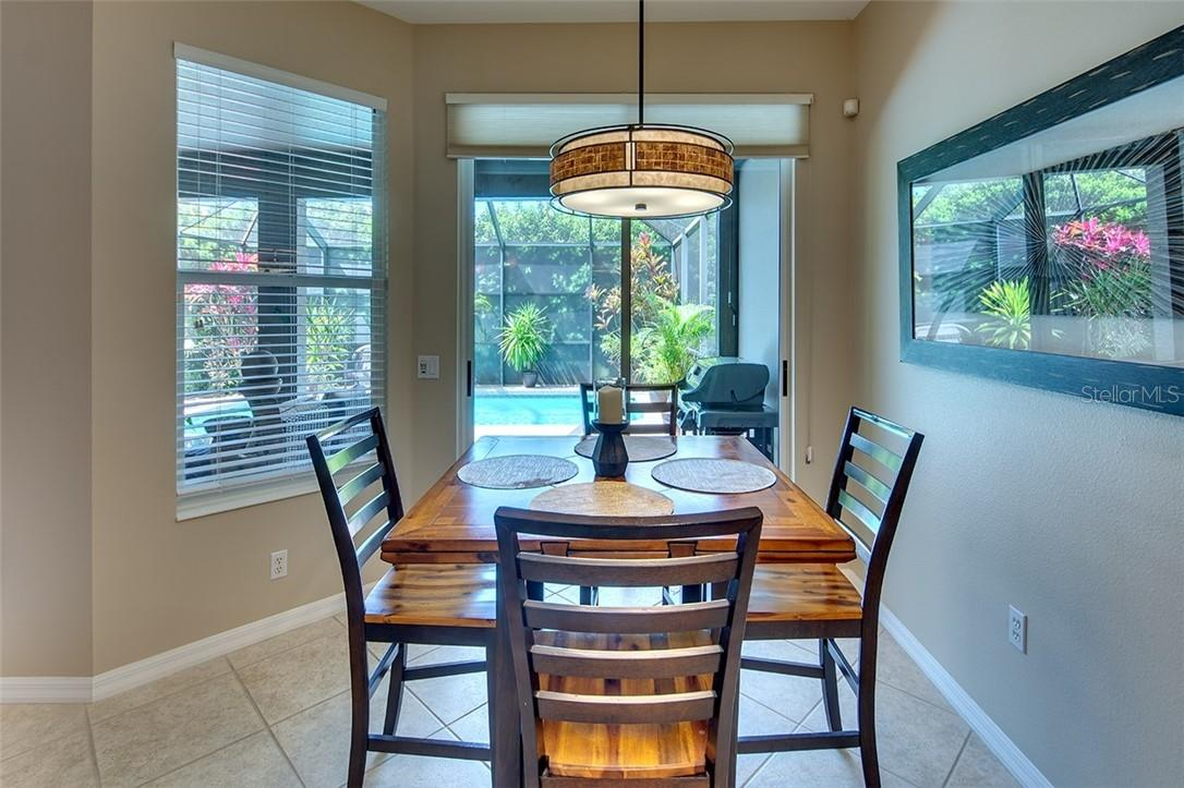 Eat-In Kitchen with Views - Single Family Home for sale at 7739 Us Open Loop, Lakewood Ranch, FL 34202 - MLS Number is A4494156