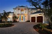 Front Dusk - Single Family Home for sale at 1238 Sharswood Ln, Sarasota, FL 34242 - MLS Number is A4149275