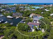 Aerial view - Single Family Home for sale at 1272 Riegels Landing Dr, Sarasota, FL 34242 - MLS Number is A4160033