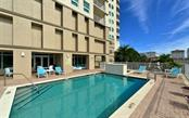 heated pool & spa, BBQ grill located on the 3rd floor - Condo for sale at 1771 Ringling Blvd #1108, Sarasota, FL 34236 - MLS Number is A4162718