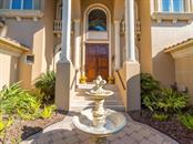 Front entry - Single Family Home for sale at 640 Rountree Dr, Longboat Key, FL 34228 - MLS Number is A4169177