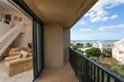 Side lanai off of living area. - Condo for sale at 4900 Ocean Blvd #503, Sarasota, FL 34242 - MLS Number is A4171070