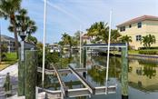 Boat lift. - Single Family Home for sale at 1627 Shelburne Ln, Sarasota, FL 34231 - MLS Number is A4184556