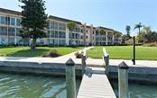 View from one of the Docks - Condo for sale at 4330 Falmouth Dr #307, Longboat Key, FL 34228 - MLS Number is A4187329