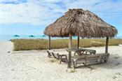 One of the Tiki huts on the beach - Condo for sale at 4621 Gulf Of Mexico Dr #11c, Longboat Key, FL 34228 - MLS Number is A4187979
