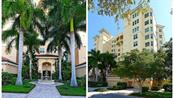 Exterior of lushly landscaped building - Condo for sale at 409 N Point Rd #601, Osprey, FL 34229 - MLS Number is A4189564