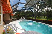 Swimming pool - Villa for sale at 7707 Calle Facil, Sarasota, FL 34238 - MLS Number is A4191635