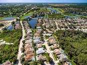 Aerial View of Greenfield Plantation - Single Family Home for sale at 530 Hunter Ln, Bradenton, FL 34212 - MLS Number is A4203433