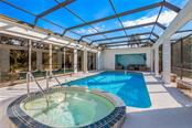 Pool and Spa - Single Family Home for sale at 5026 Kestral Park Way S, Sarasota, FL 34231 - MLS Number is A4203689