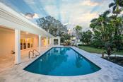 Newly resurfaced pool - Single Family Home for sale at 460 Pheasant Dr, Sarasota, FL 34236 - MLS Number is A4208025