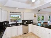 Kitchen - Stainless Steel Appliances - Single Family Home for sale at 85 S Polk Dr, Sarasota, FL 34236 - MLS Number is A4400870