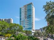 Exterior Building - Condo for sale at 1301 Main St #1001, Sarasota, FL 34236 - MLS Number is A4402790