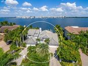 Aerial view of Sarasota Bay - Single Family Home for sale at 425 Meadow Lark Dr, Sarasota, FL 34236 - MLS Number is A4415655