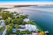 Aerial view - Single Family Home for sale at 7130 Longboat Dr E, Longboat Key, FL 34228 - MLS Number is A4418105