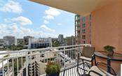 There's plenty to keep watch over from this terrace - Condo for sale at 1350 Main St #1201, Sarasota, FL 34236 - MLS Number is A4427507