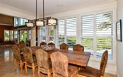 Dining Area - Single Family Home for sale at 3809 Casey Key Rd, Nokomis, FL 34275 - MLS Number is A4437924