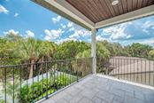 Upstairs Master Private Balcony - Single Family Home for sale at 5035 Sandy Beach Ave, Sarasota, FL 34242 - MLS Number is A4445640