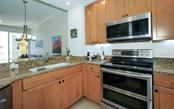 Kitchen with newer appliances - Condo for sale at 100 Central Ave #A304, Sarasota, FL 34236 - MLS Number is A4458873
