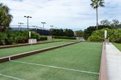 Bocce ball - Condo for sale at 9630 Club South Cir #6102, Sarasota, FL 34238 - MLS Number is A4463325