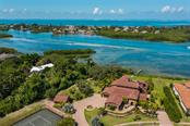 Views of the water and Casey Key. - Single Family Home for sale at 4925 Topsail Dr, Nokomis, FL 34275 - MLS Number is A4475116