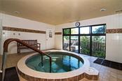 Indoor Hot Tub located inside the Fitness Center - Condo for sale at 5770 Midnight Pass Rd #710c, Sarasota, FL 34242 - MLS Number is A4477251