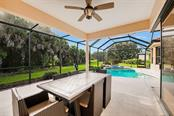 Awesome covered patio - Single Family Home for sale at 684 Crane Prairie Way, Osprey, FL 34229 - MLS Number is A4478575