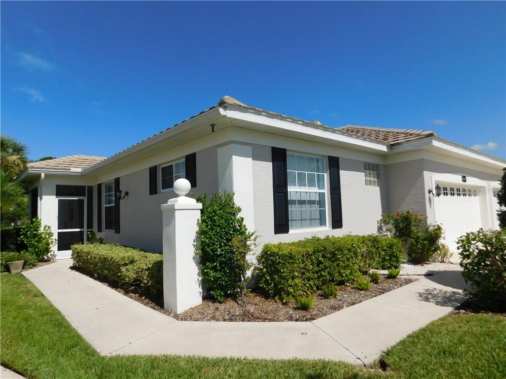 Exterior View - Villa for sale at 1649 Monarch Dr #1649, Venice, FL 34293 - MLS Number is N5909224