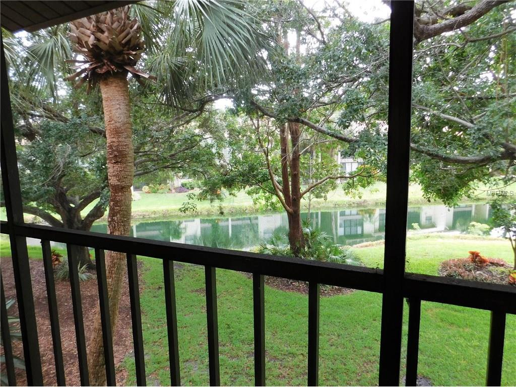Screened in Lanai View - Condo for sale at 634 Bird Bay Dr E #208, Venice, FL 34285 - MLS Number is N5910694