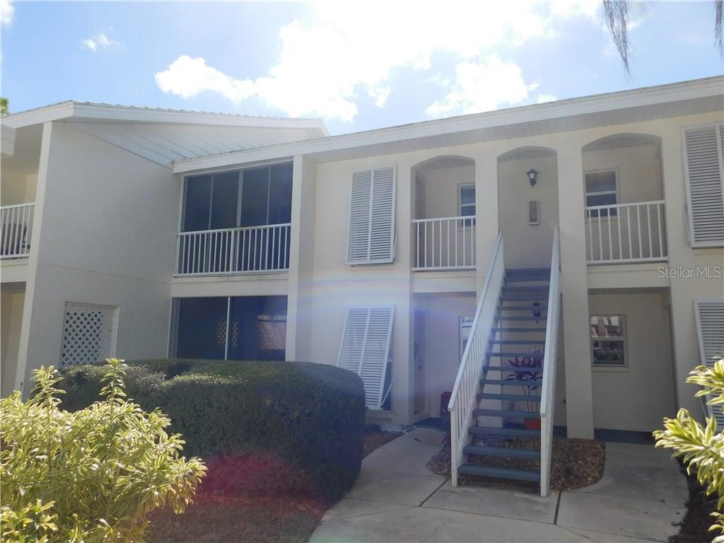 Front Entrance - Condo for sale at 435 Cerromar Ln #428, Venice, FL 34293 - MLS Number is N5911454