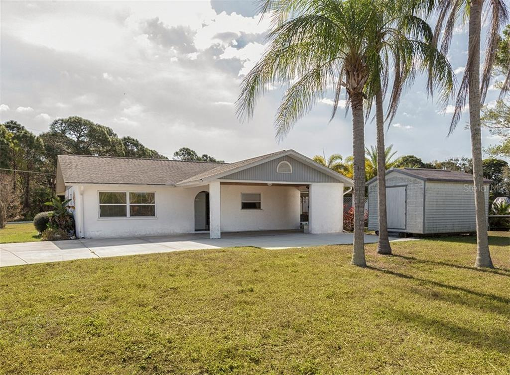Front - Single Family Home for sale at 1195 Brown St, Englewood, FL 34224 - MLS Number is N5911956