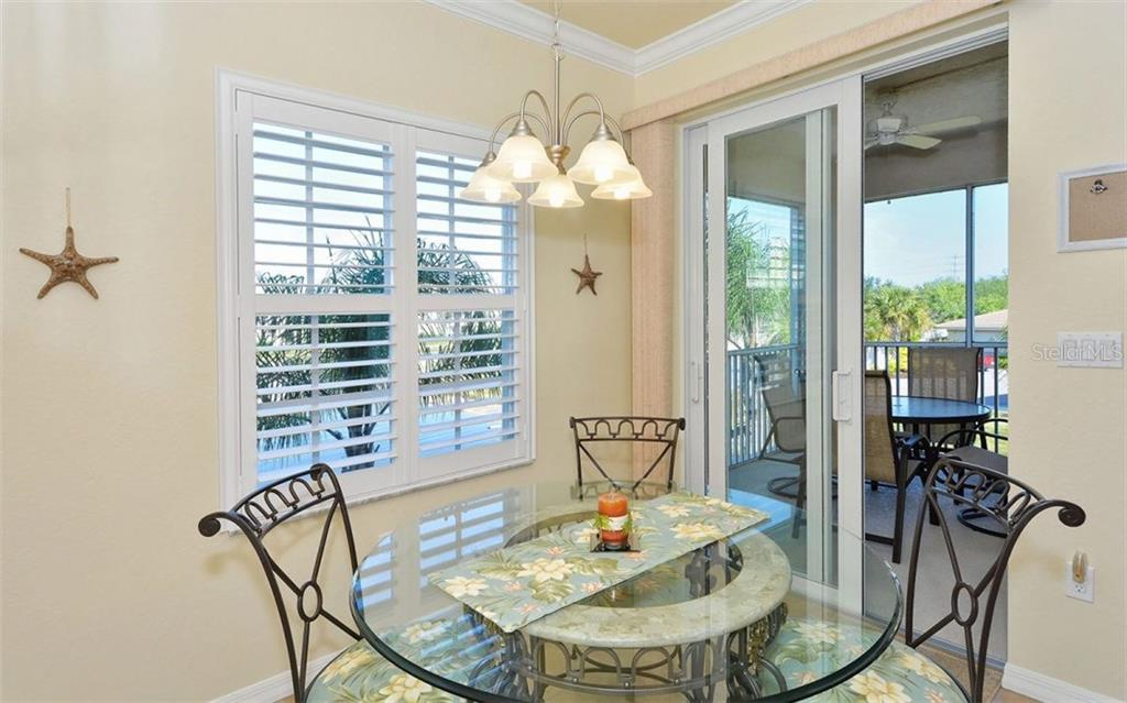 Dinette - Condo for sale at 500 San Lino Cir #524, Venice, FL 34292 - MLS Number is N5912607