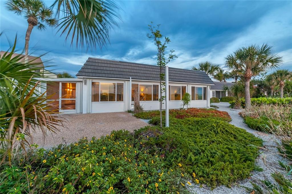 Exterior Front - Villa for sale at 710 Golden Beach Blvd #v4, Venice, FL 34285 - MLS Number is N5912832