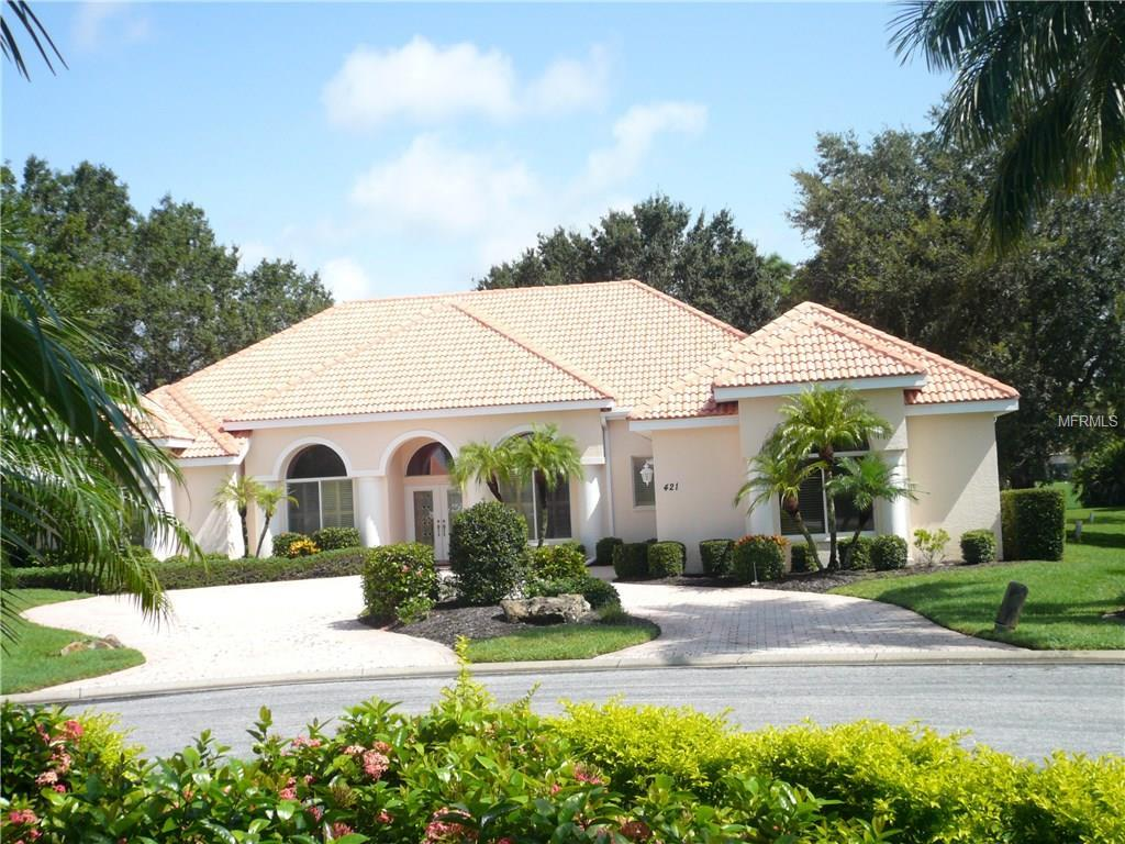 Single Family Home for sale at 421 Wincanton Pl, Venice, FL 34293 - MLS Number is N5914108