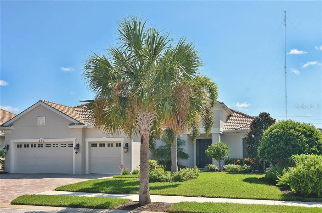 Front - Single Family Home for sale at 293 Marsh Creek Rd, Venice, FL 34292 - MLS Number is N5914238