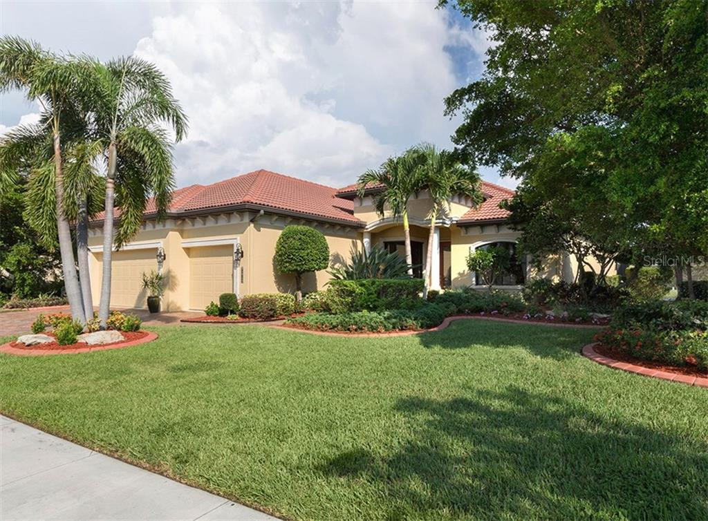 Front - Single Family Home for sale at 20122 Passagio Dr, Venice, FL 34293 - MLS Number is N5914419