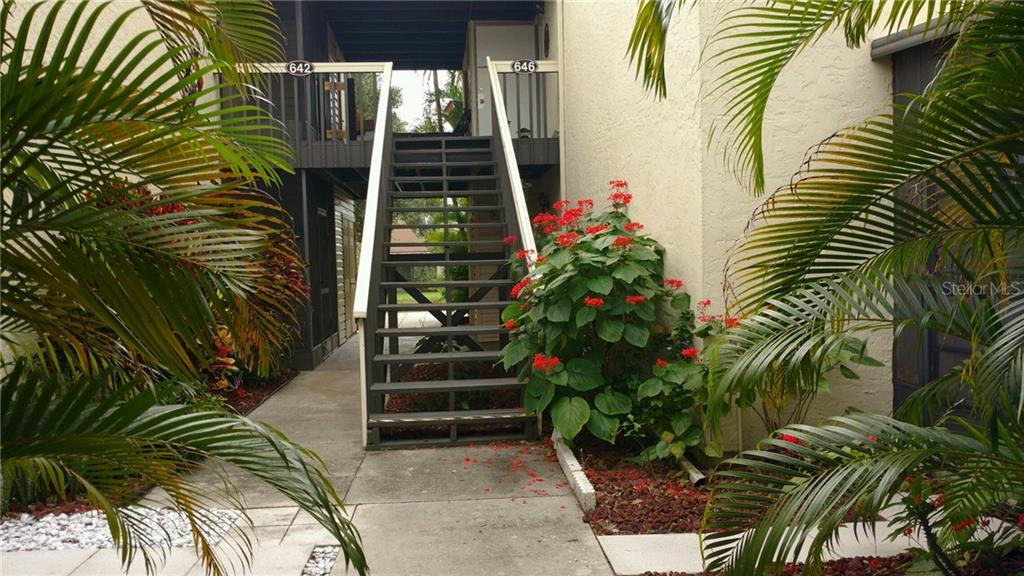 Entrance - Condo for sale at 642 White Pine Tree Rd #42, Venice, FL 34285 - MLS Number is N5914922