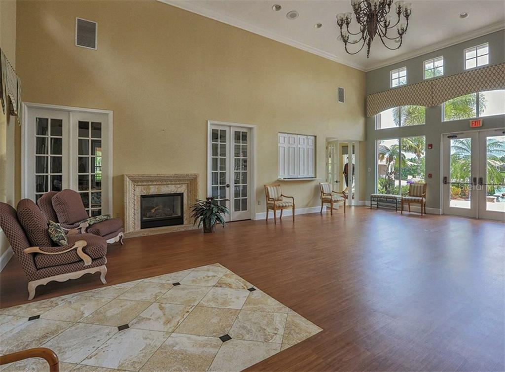 Clubhouse meeting room - Single Family Home for sale at 579 Mossy Creek Dr, Venice, FL 34292 - MLS Number is N5915511