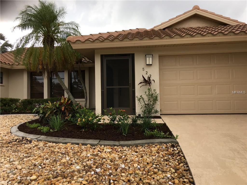 Screened front entry - Single Family Home for sale at 522 Boxwood Ln, Englewood, FL 34223 - MLS Number is N5916616