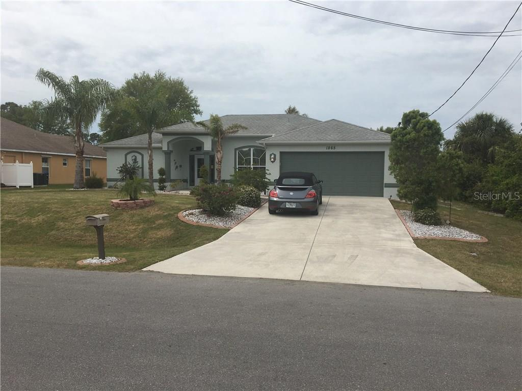 Single Family Home for sale at 1865 Northland Ave, North Port, FL 34288 - MLS Number is N5916940