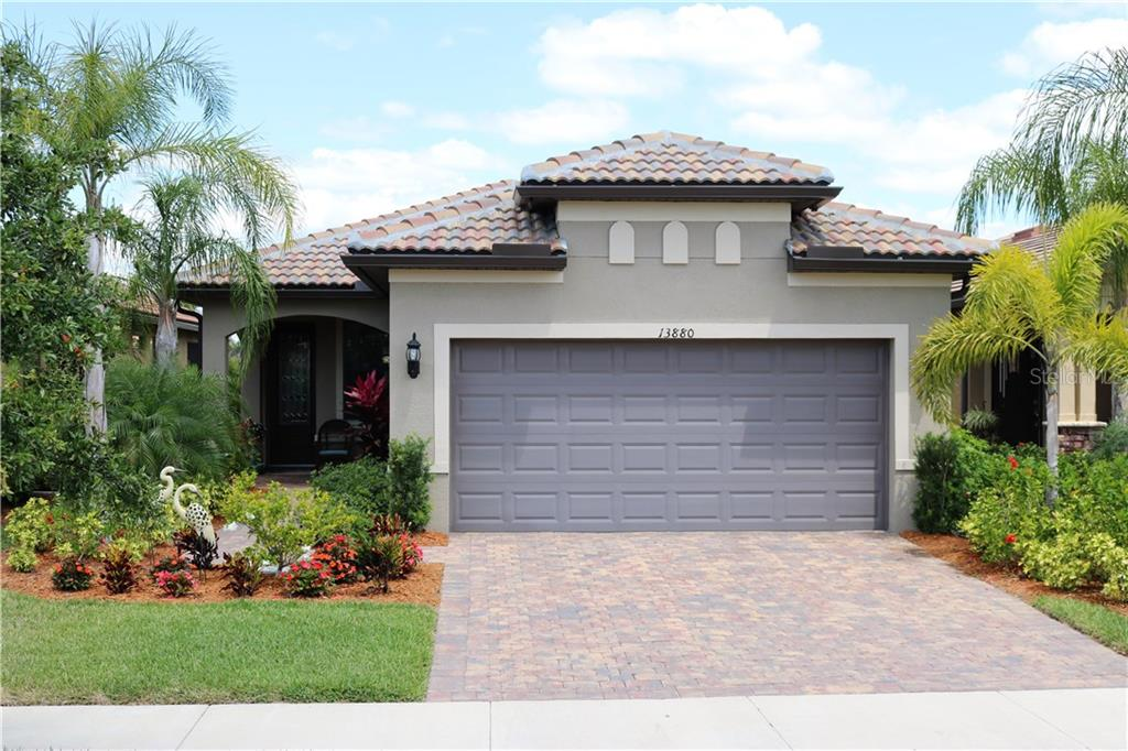 Front of Home - Single Family Home for sale at 13880 Lido St, Venice, FL 34293 - MLS Number is N5917319