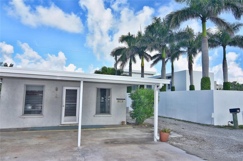 Front - Single Family Home for sale at 616 S Casey Key Rd, Nokomis, FL 34275 - MLS Number is N6100721