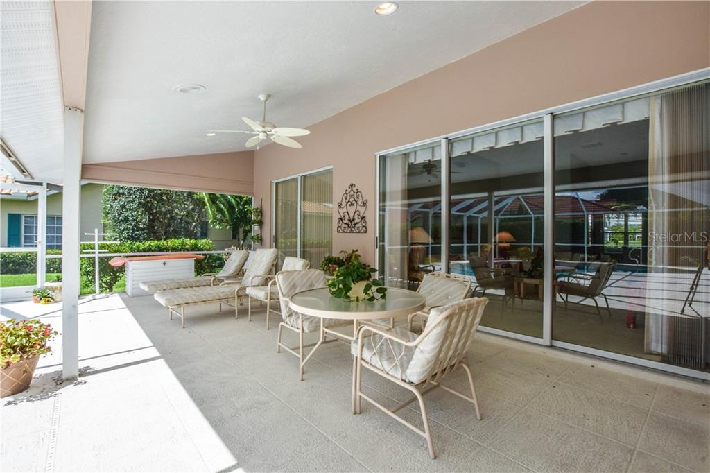 Lanai - Single Family Home for sale at 837 Carnoustie Dr, Venice, FL 34293 - MLS Number is N6101166