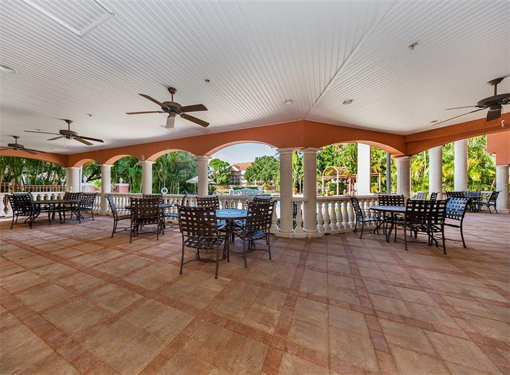 Clubhouse to pool - Condo for sale at 4106 Central Sarasota Pkwy #1028, Sarasota, FL 34238 - MLS Number is N6101168