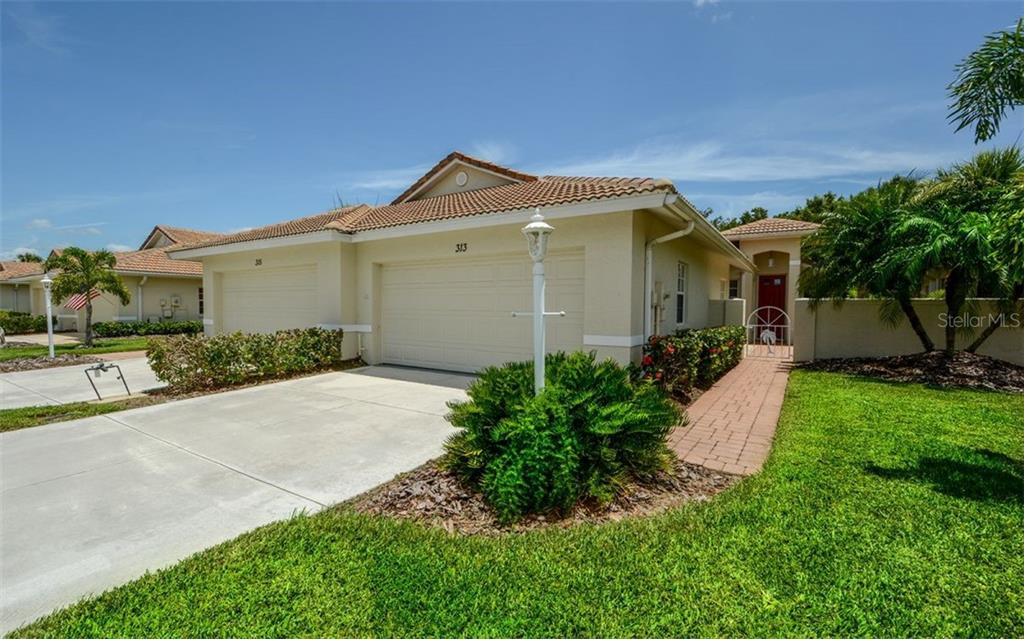 New Supplement - Villa for sale at 313 Auburn Woods Cir, Venice, FL 34292 - MLS Number is N6101432