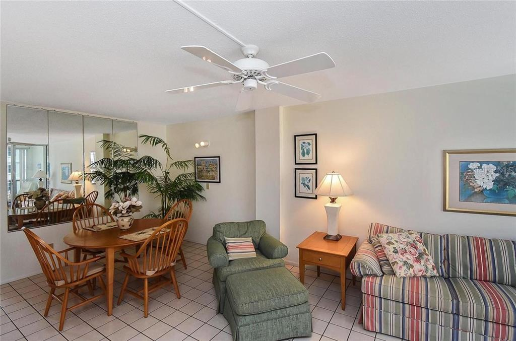 Dining room, living room - Condo for sale at 232 Saint Augustine Ave #405, Venice, FL 34285 - MLS Number is N6101830