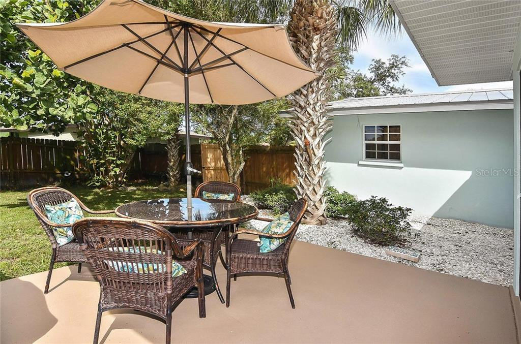 Patio - Single Family Home for sale at 316 Alba St E, Venice, FL 34285 - MLS Number is N6102095