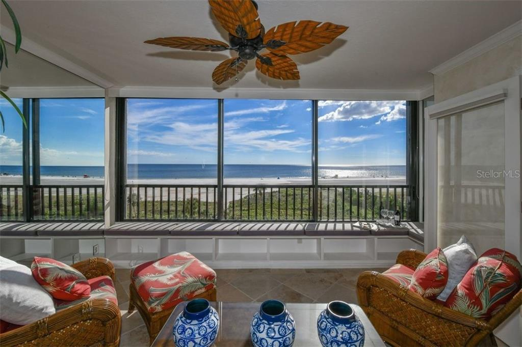 FROM ALL SIDES THE VIEW JUST GETS BETTER - Condo for sale at 5740 Midnight Pass Rd #505 F, Sarasota, FL 34242 - MLS Number is N6102195