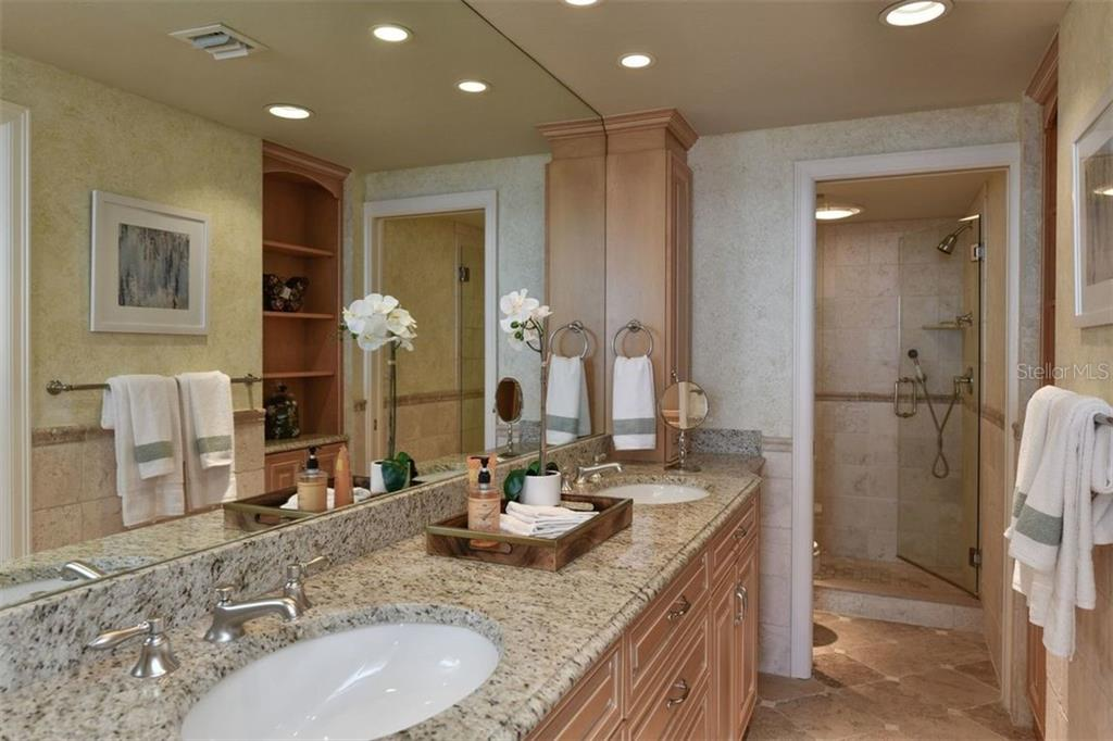 UPDATED MASTER BATHROOM - Condo for sale at 5740 Midnight Pass Rd #505 F, Sarasota, FL 34242 - MLS Number is N6102195