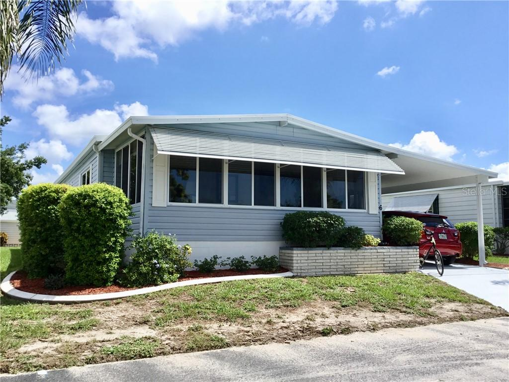 Manufactured Home for sale at 6 S Marina Plz, Englewood, FL 34223 - MLS Number is N6102268