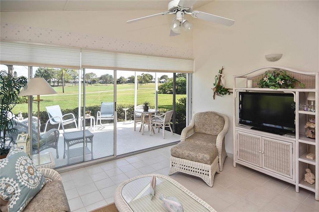 Florida room - Villa for sale at 740 Brightside Crescent Dr #21, Venice, FL 34293 - MLS Number is N6102676
